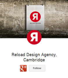 reload design cambridge google plus