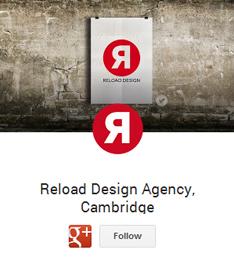 reload design cambridge google plus